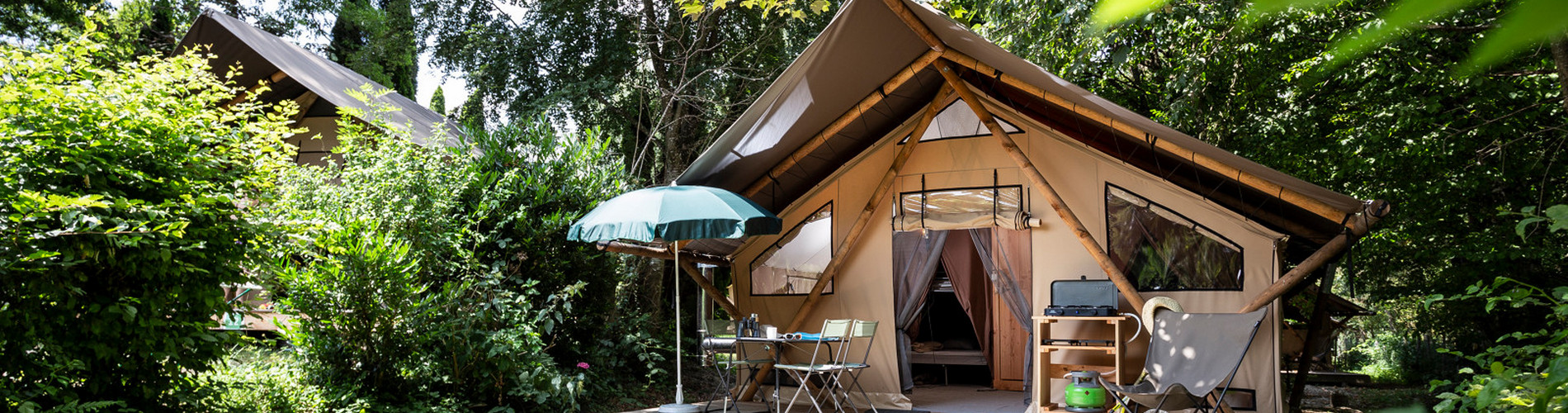 Camping Huttopia Lac d'Aiguebelette ©Manu Reyboz